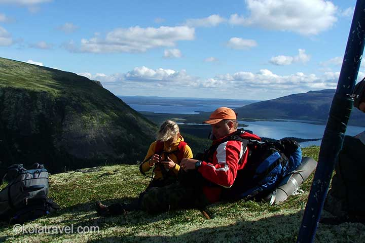 kolatravel hiking excursion Lovozero tundra russian lapland saami shaman kuiva