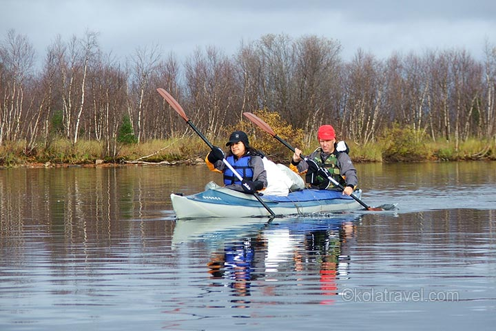 Discover Russian Lapland by kayak! The tour starts in Saami village Lovozero. Paddle from the centre of Kola Peninsula between the tundras almost to the Barents Sea.
